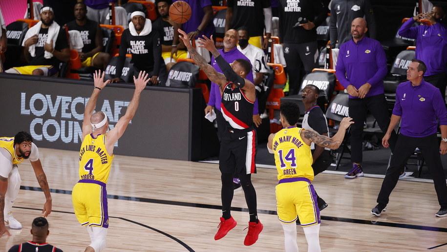 Mecz Los Angeles Lakers - Portland Trail Blazers /JOHN G. MABANGLO /PAP/EPA