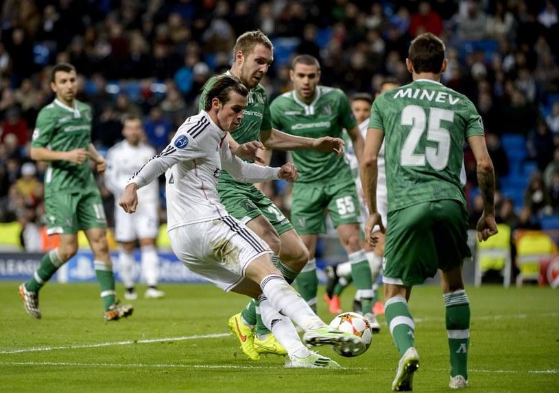 Mecz Łudogorec Razgrad - Real Madryt /AFP