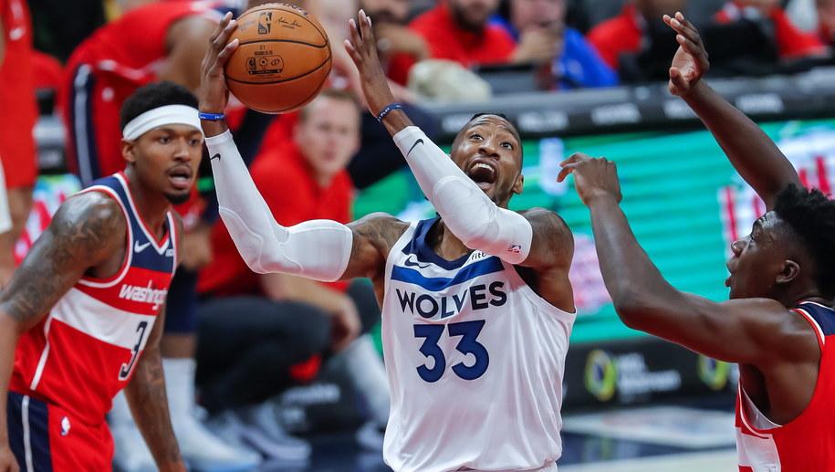 Mecz Minnesota Timberwolves - Washington Wizards /ERIK S. LESSER /PAP/EPA