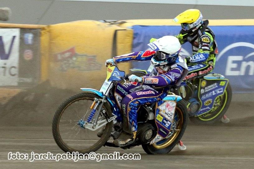 Mecz Motoru Lublin /Flipper Jarosław Pabijan