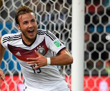 Mecz Niemcy - Argentyna 1-0 w finale MŚ