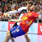 Mecz Niemcy - Hiszpania 24-17 w finale ME w Krakowie