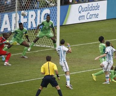 Mecz Nigeria - Argentyna 2-3 na MŚ 2014