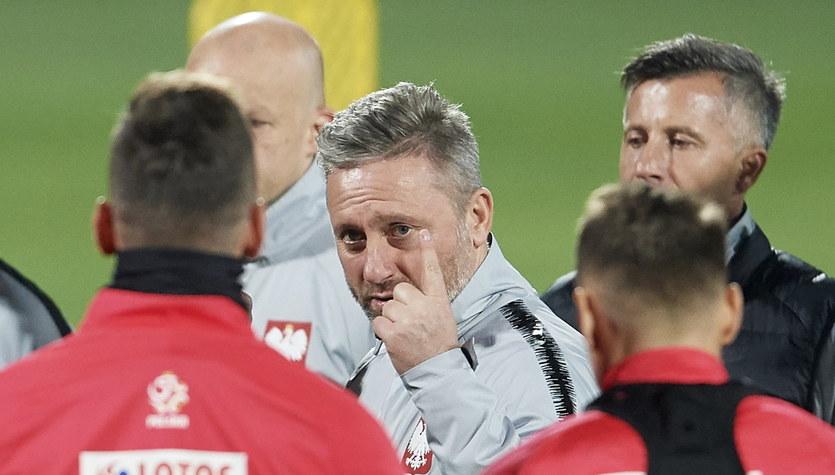 Mecz Polska - Czechy. Brzęczek: Stan zdrowia piłkarzy nie jest optymalny