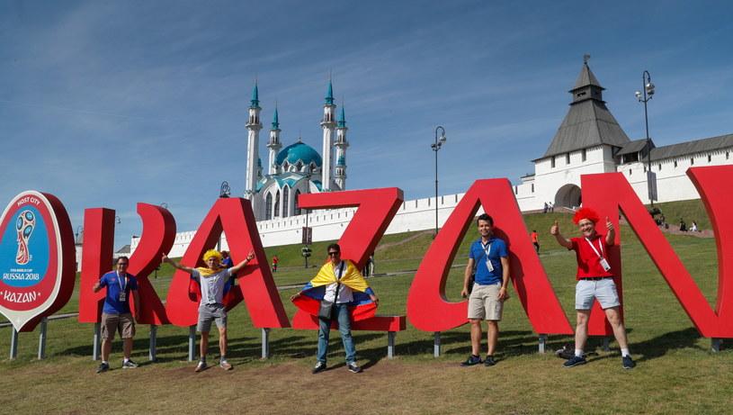 Mecz Polska - Kolumbia odbędzie się w Kazaniu /PAP/EPA