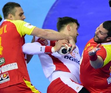 Mecz Polska - Macedonia 24-23 na ME piłkarzy ręcznych