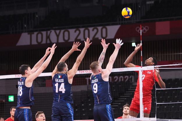 Mecz Polska - Włochy / Leszek Szymański    /PAP