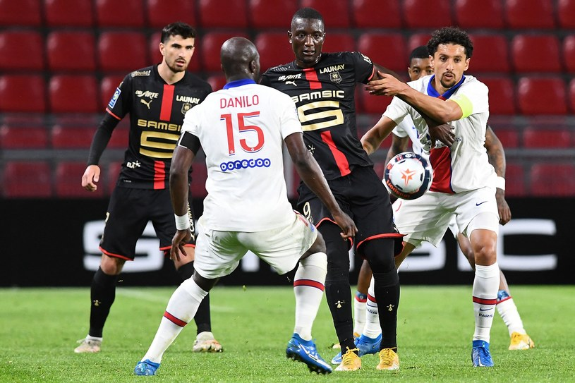 Mecz Rennes - PSG /AFP