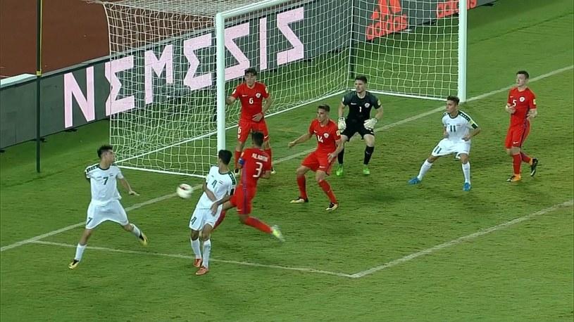 Mecz reprezentacji Iraku U-17 przeciwko Chile /Eurosport