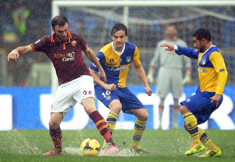 Mecz Roma - Parma próbowano rozegrać, ale się nie udało /AFP