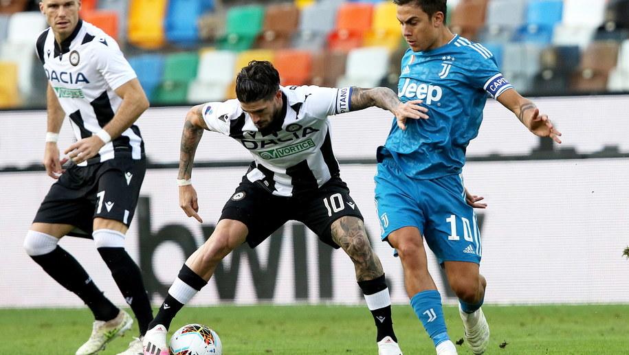 Mecz Udinese-Juventus Turyn /GABRIELE MENIS /PAP/EPA