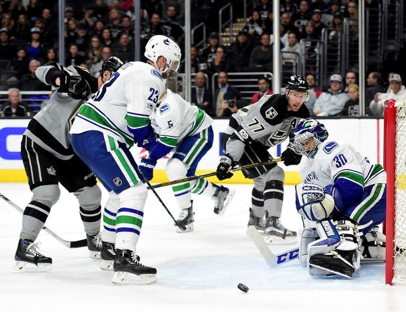 Mecz Vancouver Canucks - Los Angeles Kings /AFP