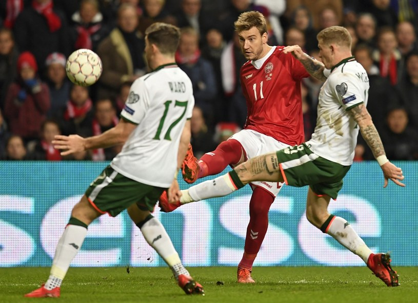 Mecz w Kopenhadze zakończył się bezbramkowym remisem /PAP/EPA