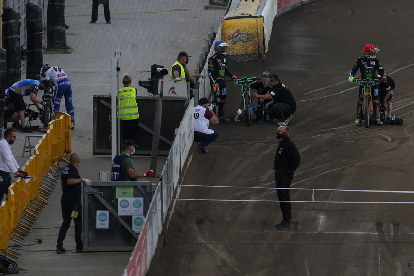 Mecz w Rybniku wygrała Unia /Dominik Gajda /Newspix