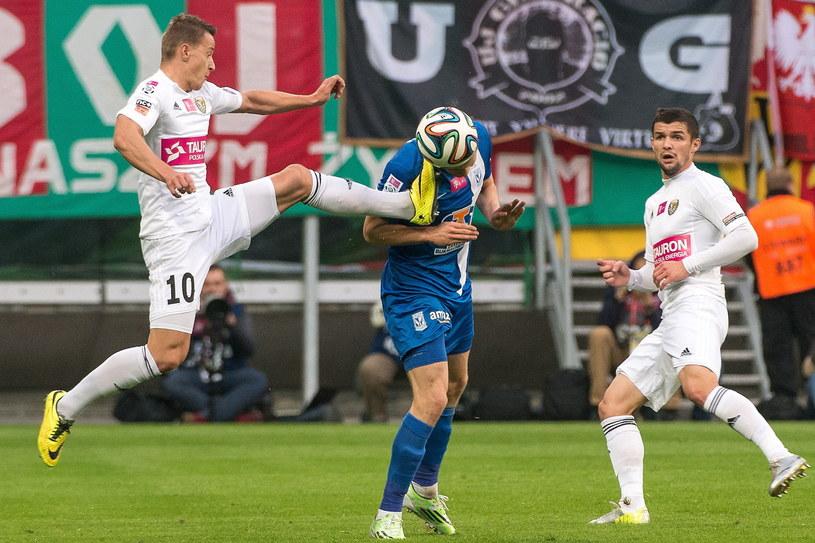 Mecz we Wrocławiu mógł się podobać /Fot. Maciej Kulczyński /PAP