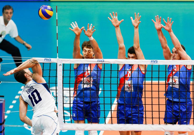 Mecz Włochy - Serbia /Getty Images