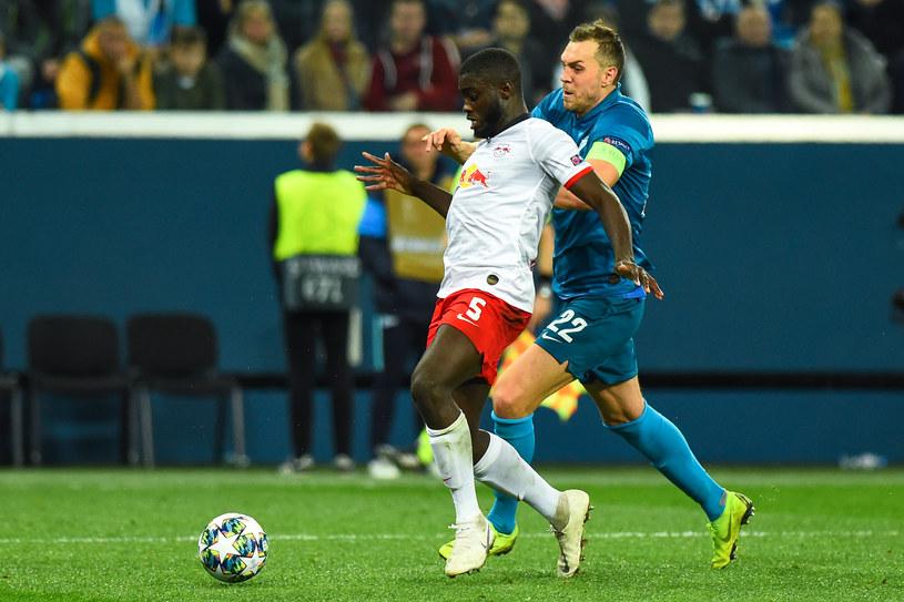 Mecz Zenit Sankt Petersburg - RB Lipsk /Olga Maltseva /AFP