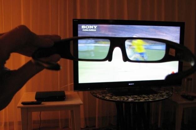 Mecze piłkarskie prezentują się naprawdę nieźle w 3D - mieliśmy szansę sprawdzić na własne oczy /INTERIA.PL