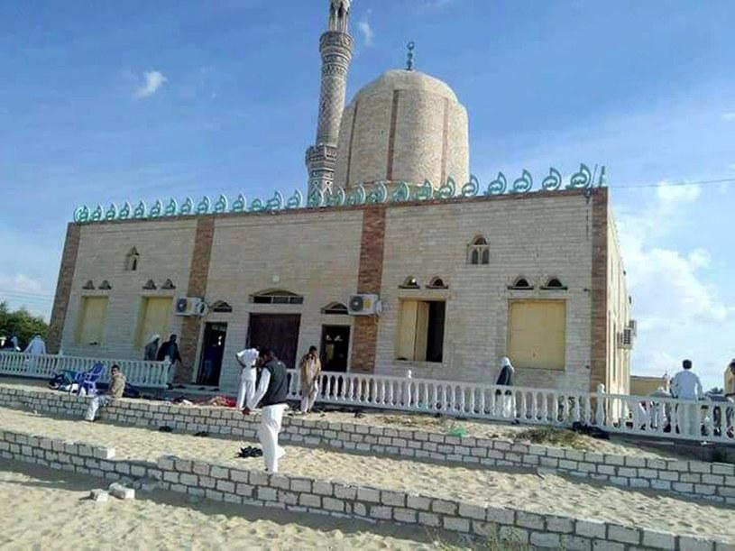 Meczet, w którym doszło do zamachu /STR /PAP/EPA
