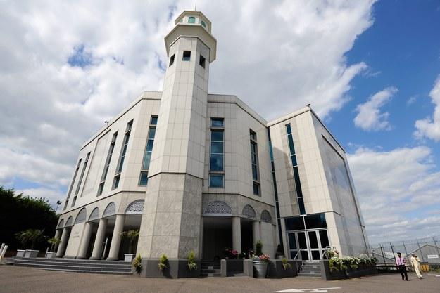 Meczet w Londynie /FACUNDO ARRIZABALAGA /PAP/EPA