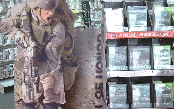 Medal of Honor - stoisko w jednym z polskich sklepów /Informacja prasowa