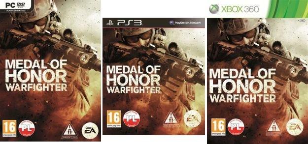 Medal of Honor: Warfighter - polskie okładki /Informacja prasowa