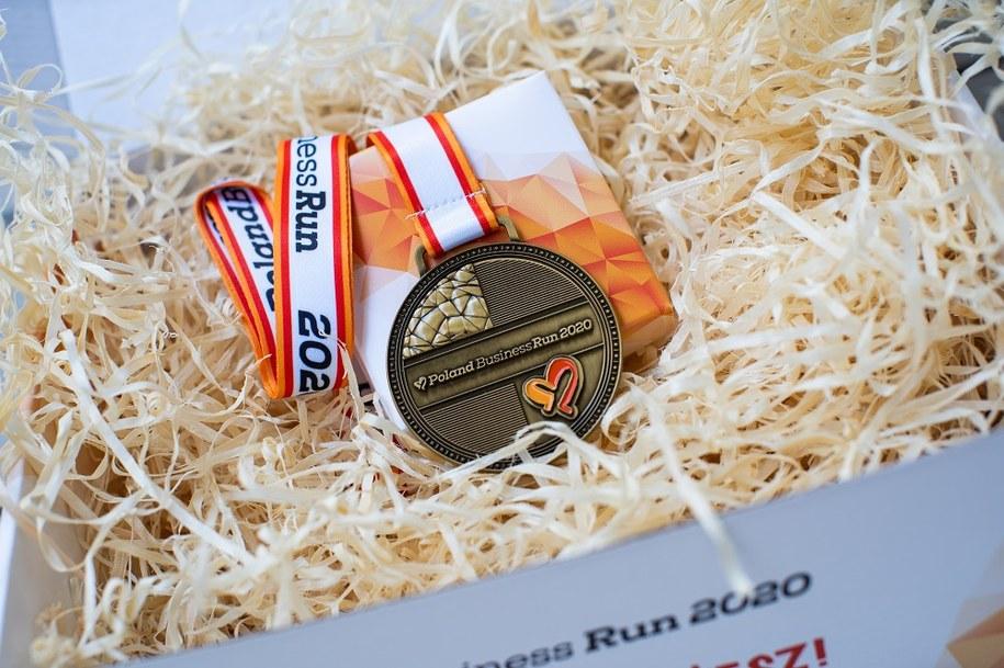 Medal Poland Business Run 2020 /Materiały prasowe