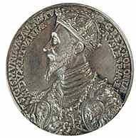 Medal Zygmunta Augusta, awers /Encyklopedia Internautica