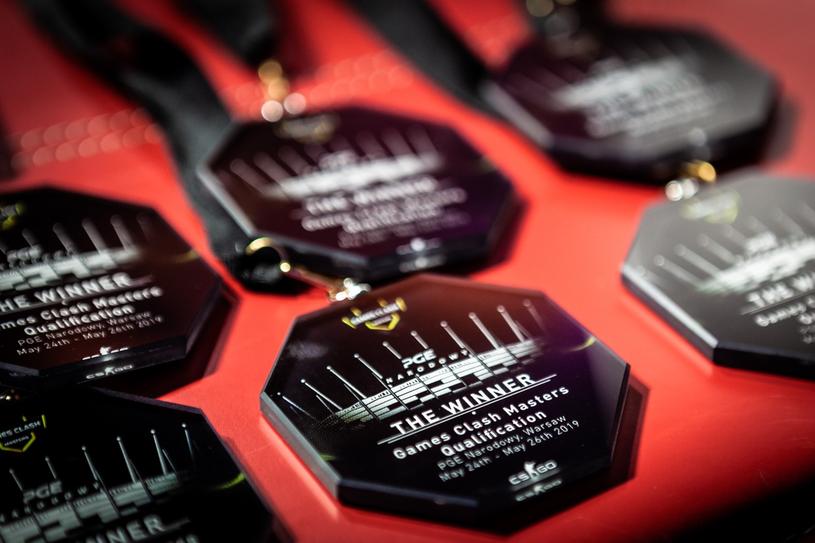 Medale, które zawisły na szyjach graczy x-kom Teamu. /kamil Nowakowski /materiały prasowe