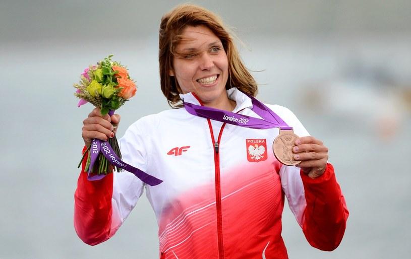 Medalistka olimpijska - Zofia Klepacka /AFP