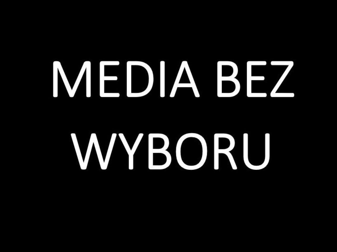 Media bez wyboru. Protest w sprawie nowego podatku od mediów: Wyjaśniamy dlaczego