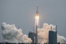 Media: Fragment olbrzymiej rakiety kosmicznej spadnie na Ziemię