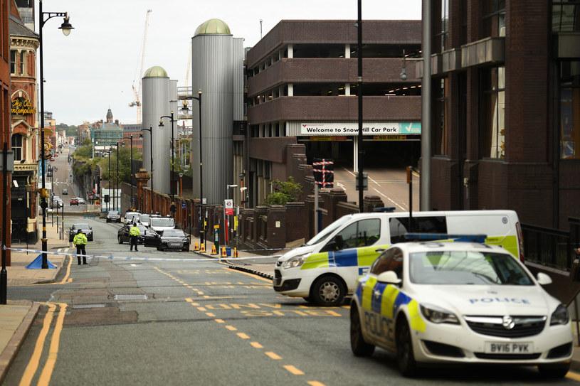 Media: Osiem osób rannych w atakach nożem w Birmingham /Oli Scarff /AFP