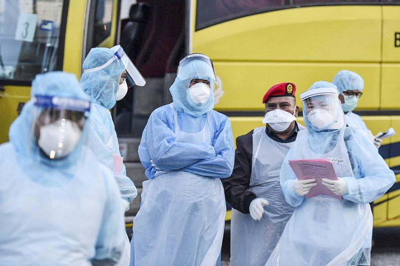 Media poinformowały o pierwszej ofierze śmiertelnej koronawirusa w Hongkongu /Muzzafar Kasim /PAP/EPA