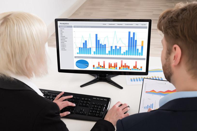 Mediana zarobków analityków biznesowych wynosi 7575 zł /123RF/PICSEL
