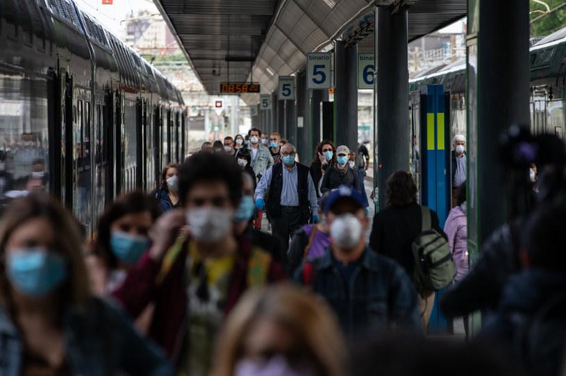 Mediolan w czasie epidemii /Emanuele Cremaschi /Getty Images