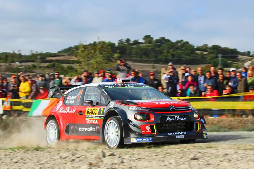Meeke/Nagle (Citroen C3 WRC) /INTERIA.PL