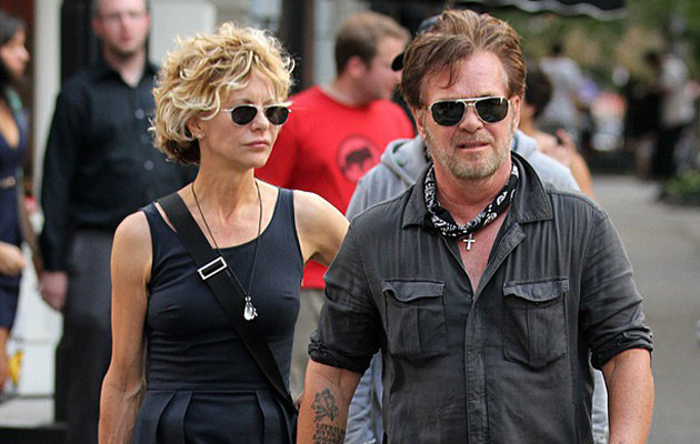 Meg Ryan i John Mellencamp rozstali się! /Santi/Splash News /East News