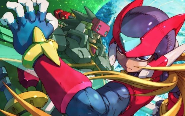 Mega Man Zero Collection - motyw graficzny /Informacja prasowa