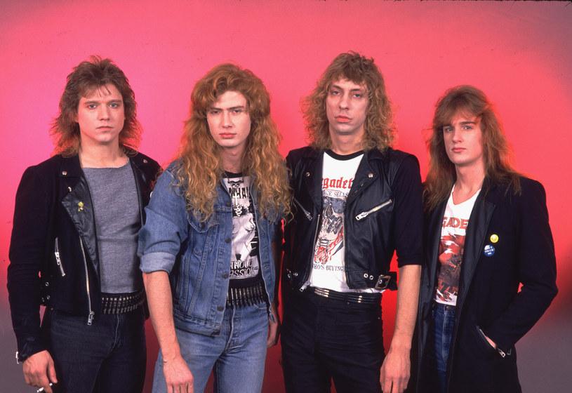 Megadeth na początku swojej drogi, rok 1986 /Chris Walter/WireImage /Getty Images