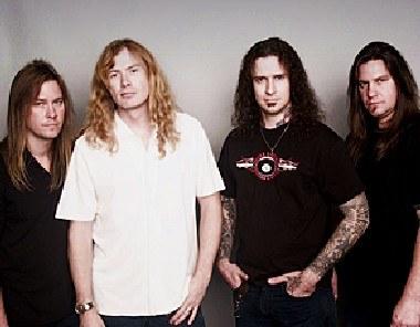Megadeth w składzie jeszcze z Jamesem MacDonoughem /Oficjalna strona zespołu