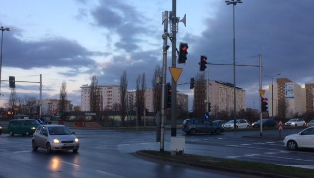 Megafony w Poznaniu /Mateusz Chłystun /RMF FM