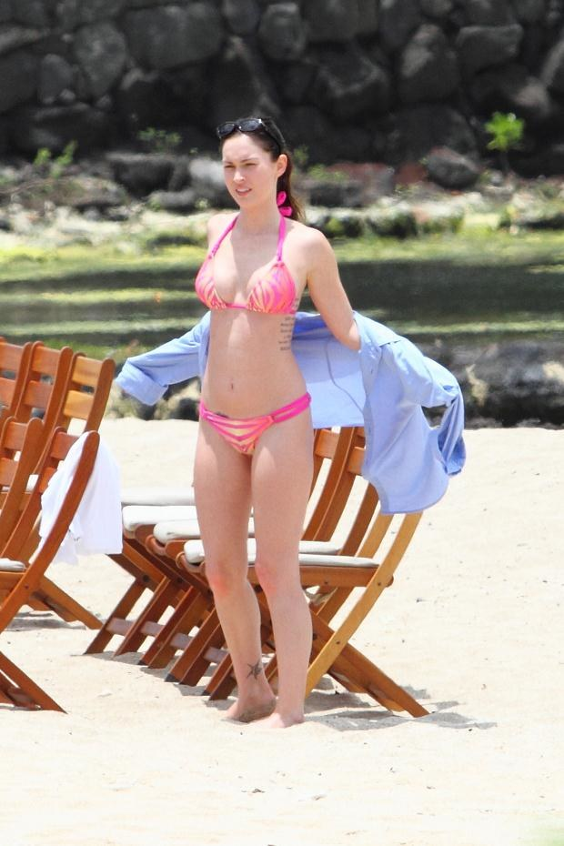 Megan dziś - w skąpym bikini!  /Splashnews
