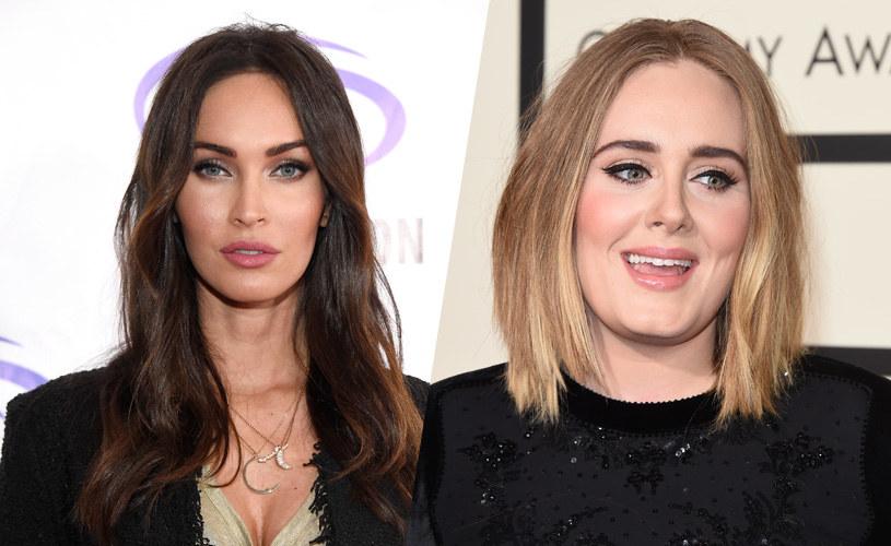 Megan Fox i Adele /Frazer Harrison/Jason Merritt /Getty Images
