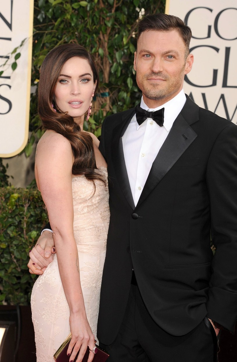 Megan Fox i Brian Austin Green /Peters/face to face /East News
