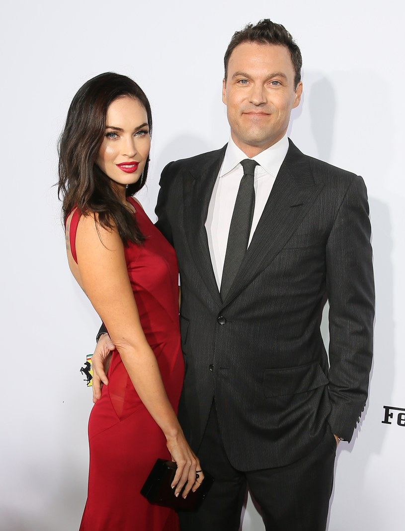 Megan Fox i Brian Austin Green /JB Lacroix /Getty Images