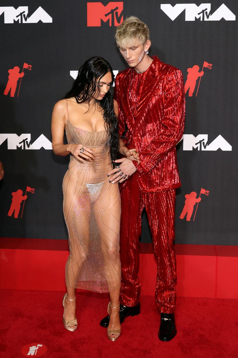 Megan Fox i Machine Gun Kelly na gali MTV /Taylor Hill /Getty Images