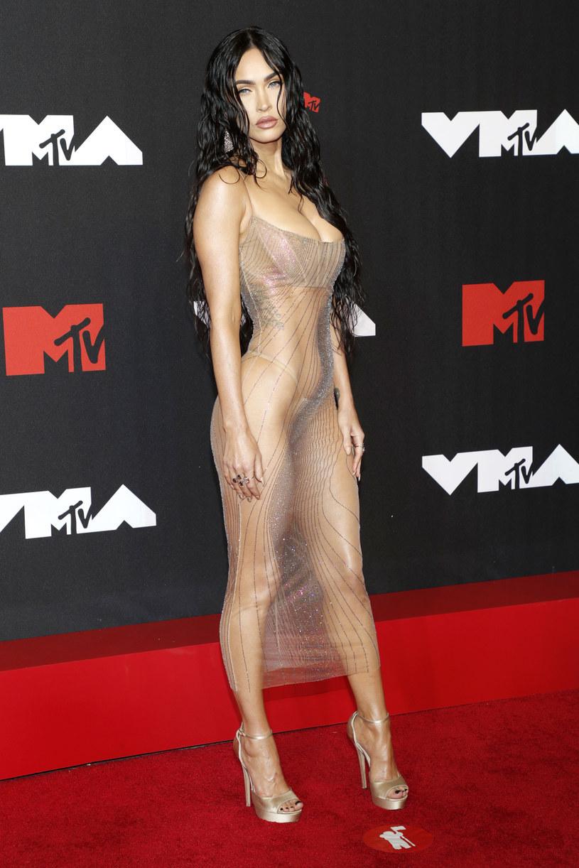 Megan Fox na gali 2021 MTV Video Music Awards /Astrid Stawiarz/WireImage /Getty Images