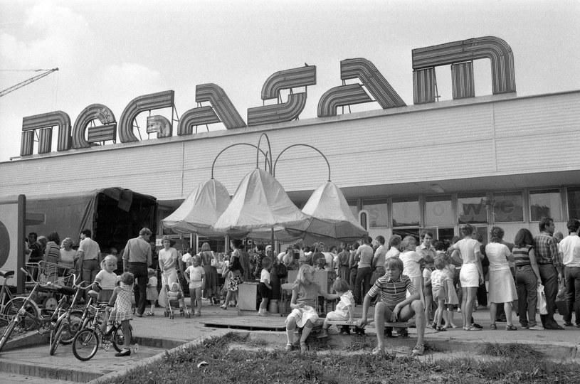 Megasam - wielki (jak na ówczesne czasy) market Ursynowa /Archium Andrzeja Marca /East News