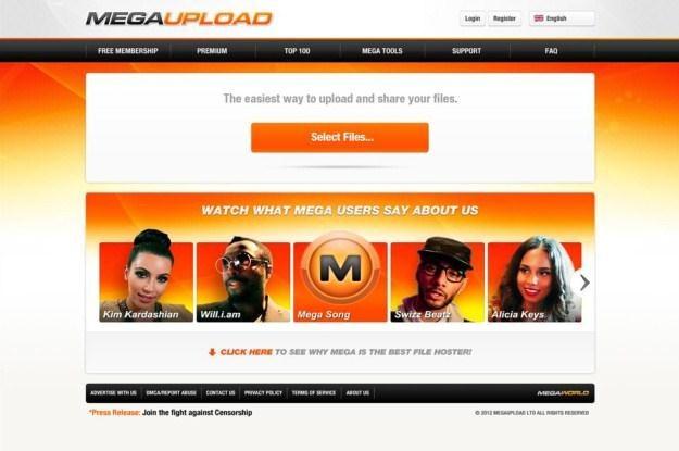 Megaupload to już historia, choć zmagazynowane na serwerach dane nie zostały usunięte /AFP
